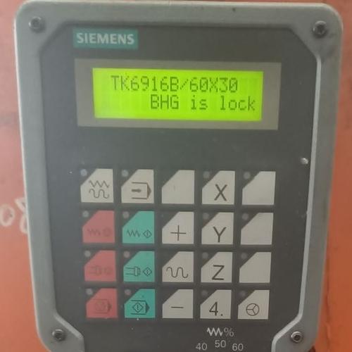 840D数控手轮按键不灵维修