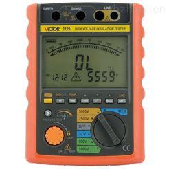 5000V高压绝缘电阻测试仪VICTOR 3125