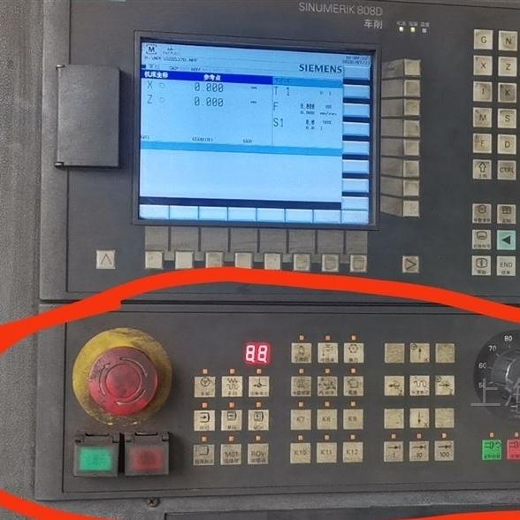 808D老系统按键盘灯全闪维修