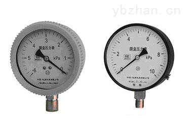SC-100-膜盒压力表
