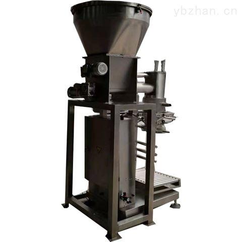 玉米粉螺旋称重半自动粉体包装机
