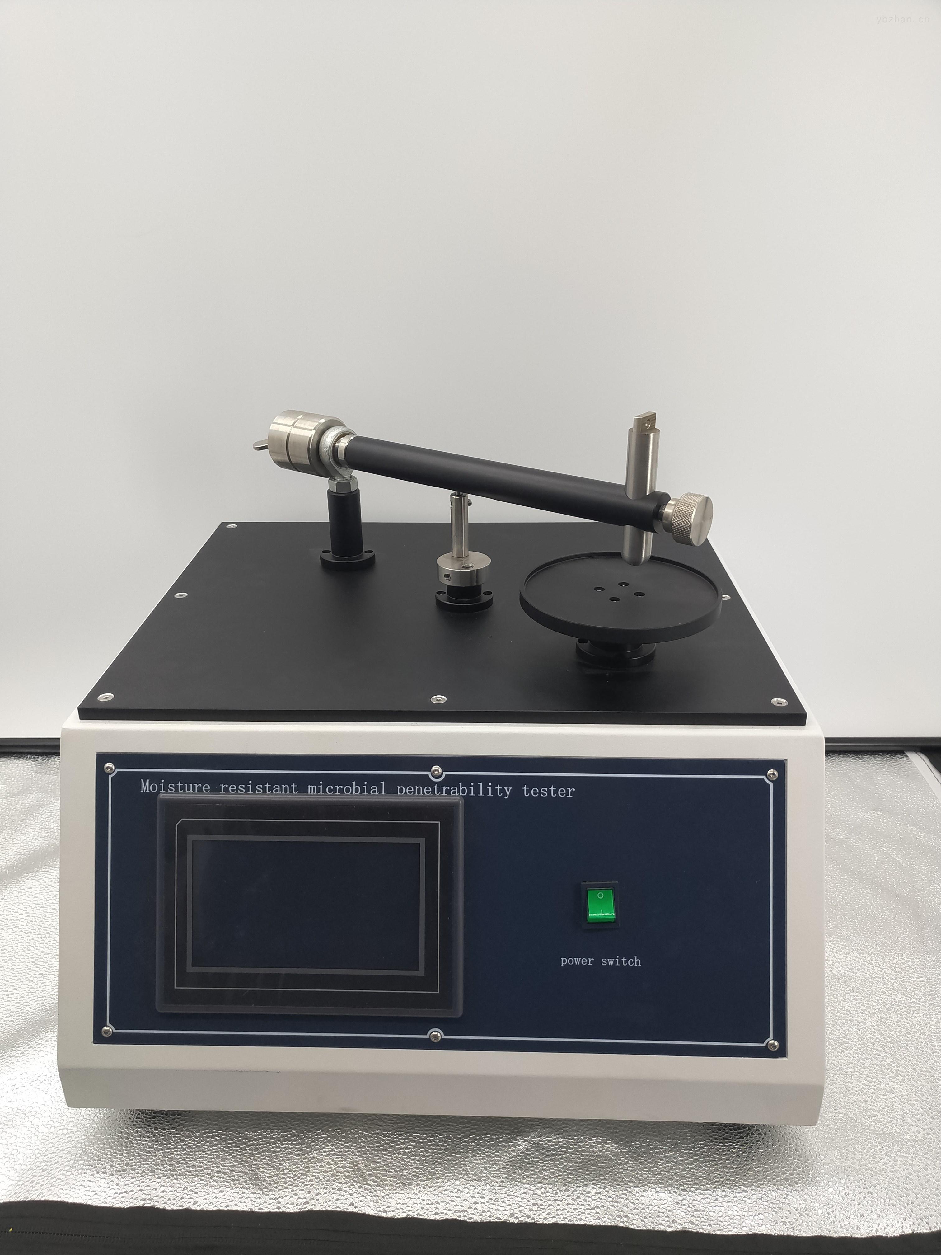 阻湿态微生物穿透测试仪工作原理