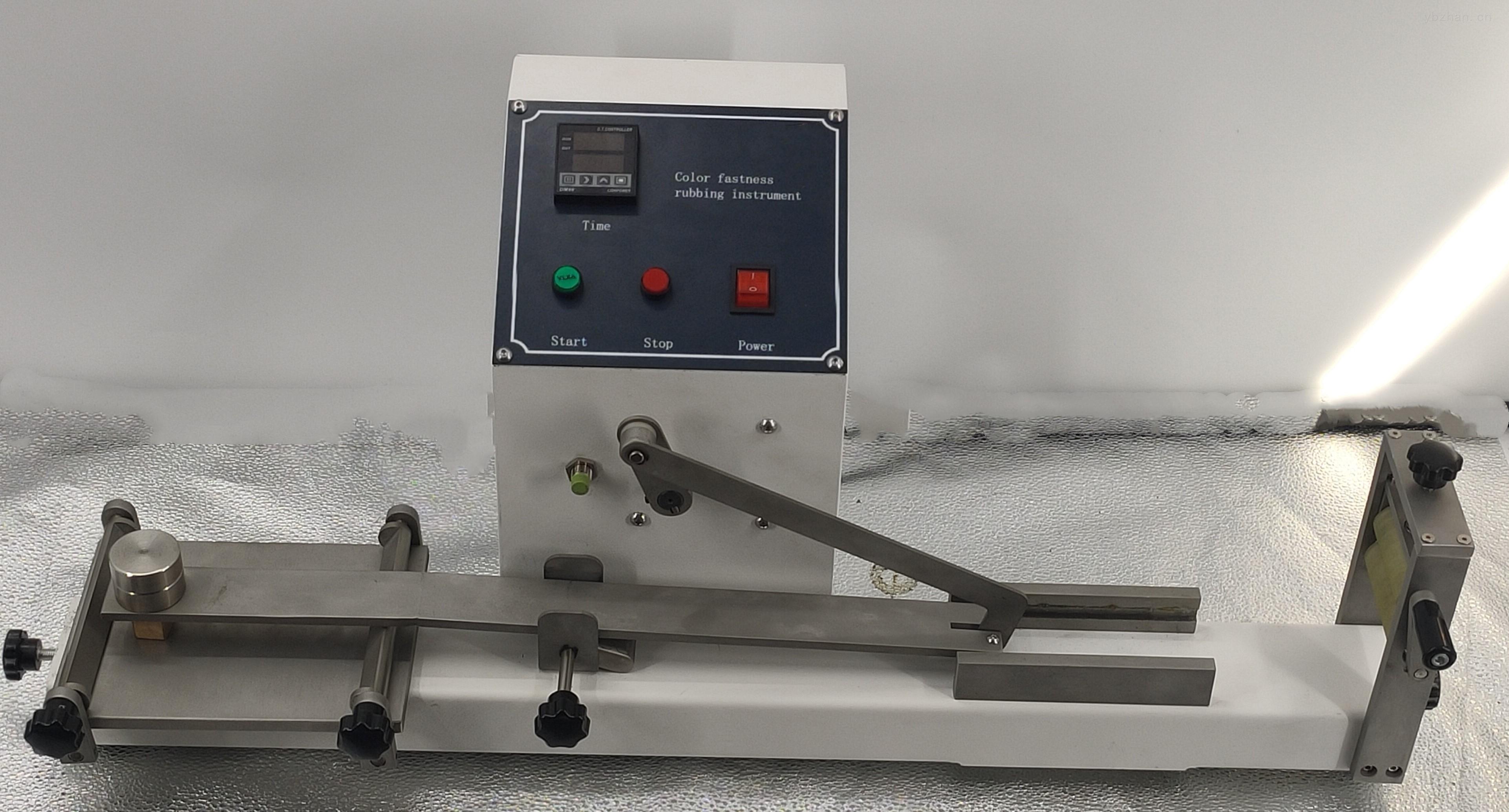 新款全自動預置式摩擦色牢度測試儀