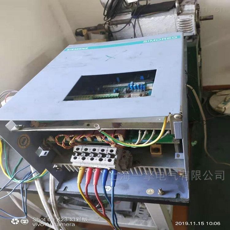 电源板上电报警F004调速器6RA70维修