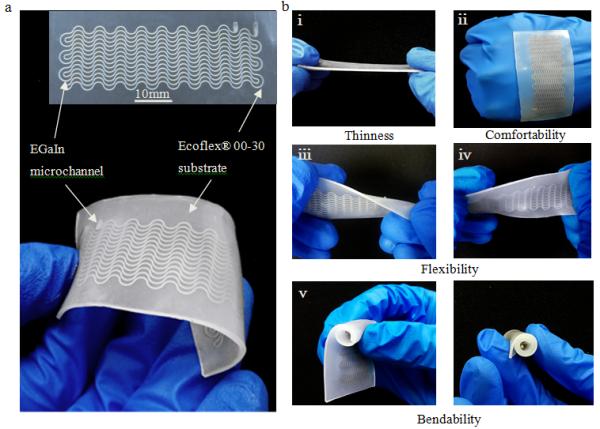 深圳先进院开发出高性能微流体柔性应变传感器