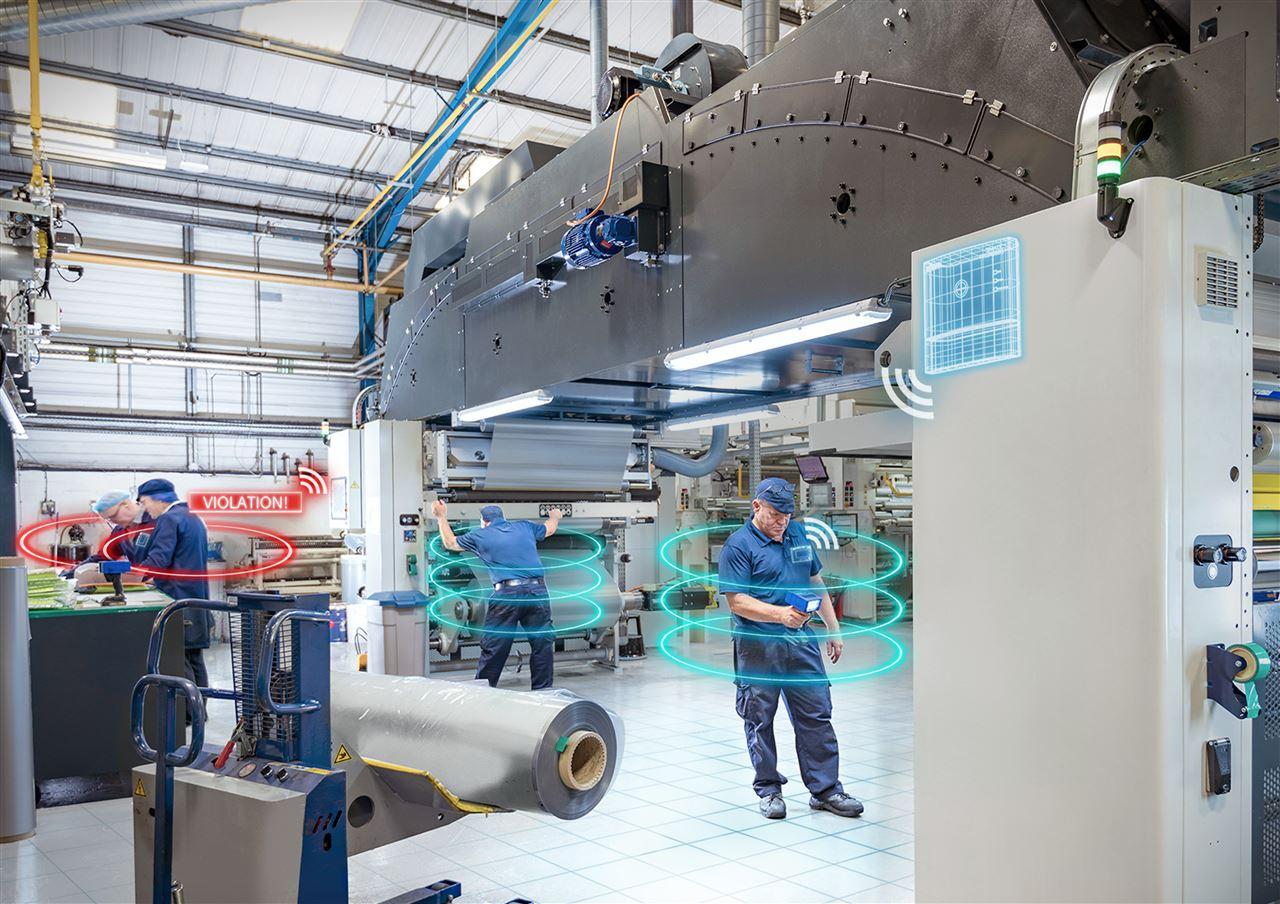 西门子提供定位系统确保生产环境安全和生产流程优化