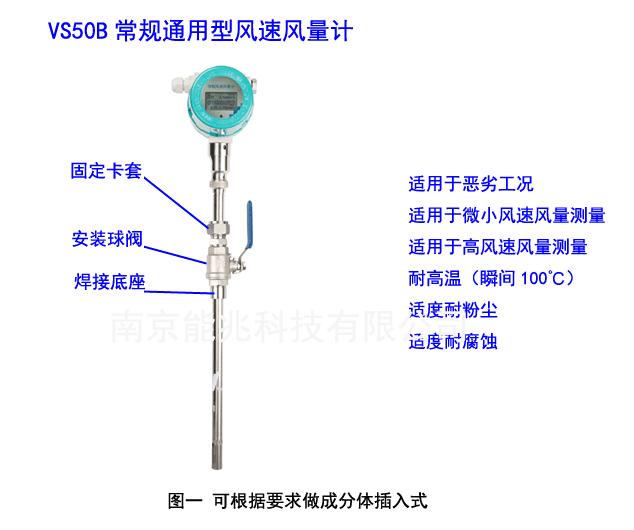 VS50常规通用型风速风量计