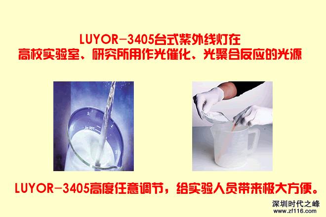 LUYOR-3405台式LED表面检测灯