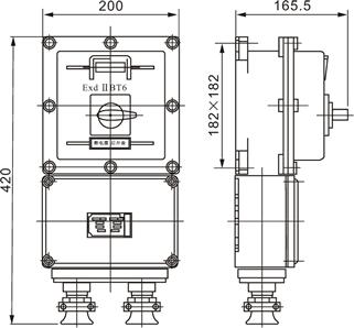 BLK52(BDZ)防爆断路器