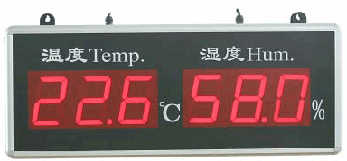 NK102温湿度显示大屏