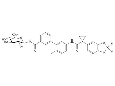 Lumacaftor酰基-β-D-葡萄糖醛酸