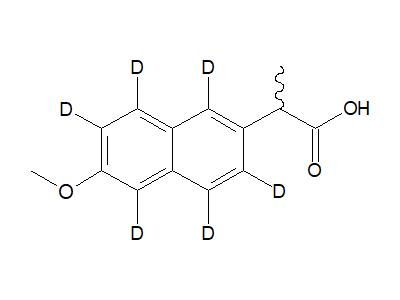 萘普生-1,3,4,5,7,8-d6