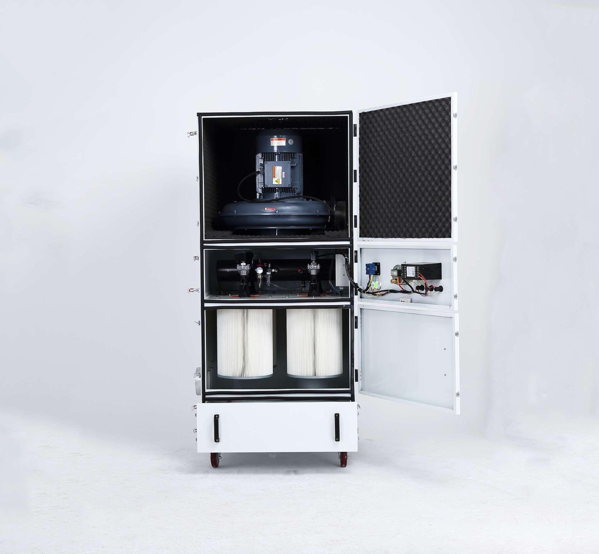 脉冲吸尘器 移动柜式磨床脉冲吸尘器生产厂家示例图4