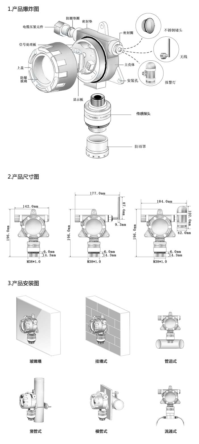 APEG-DH2S硫化氢泄漏检测报警仪硫化氢监测仪