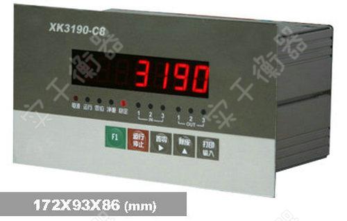 XK3190-C8地磅秤称重仪表