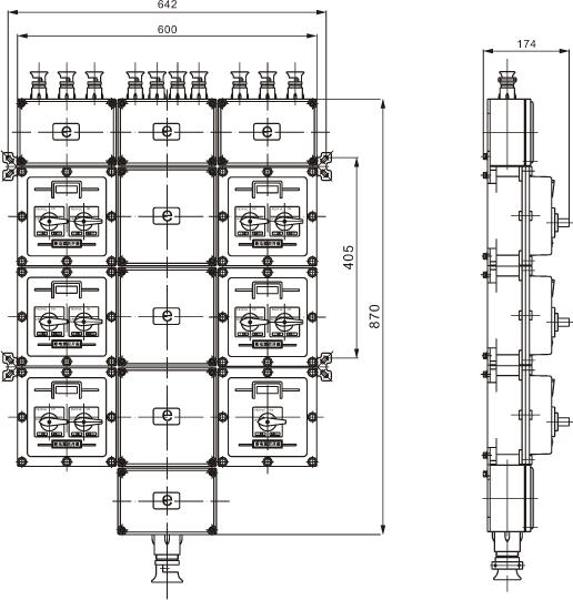 BXM51(BXD51)防爆照明(动力)配电箱