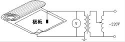绝缘胶垫试验接线图