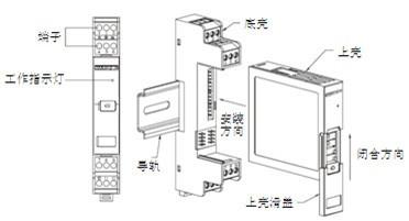 XP系列隔离配电器拆装图