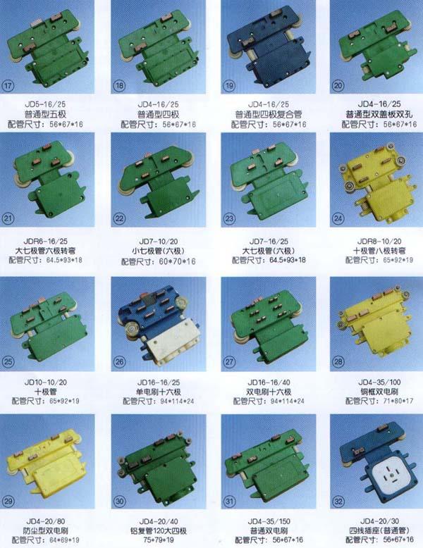 滑触线集电器、滑触线配件
