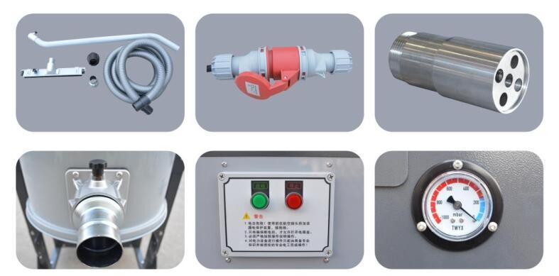 厂家地坪研磨粉尘吸尘器 车间地面打磨集尘器 移动式吸尘器示例图6