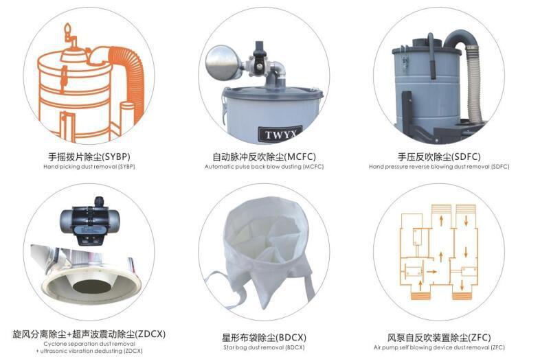 厂家地坪研磨粉尘吸尘器 车间地面打磨集尘器 移动式吸尘器示例图7