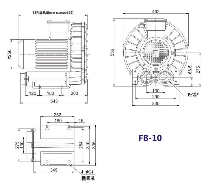嘉兴变频防爆旋涡风机 FB-15变频防爆旋涡风机 厂家防爆风机示例图18