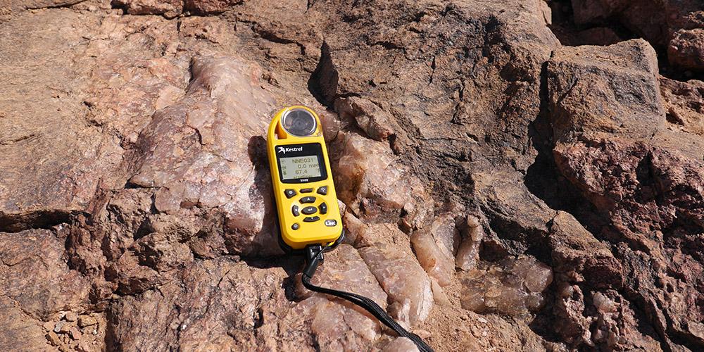 美国NK5500风速仪/Kestrel5500气象仪测量风速