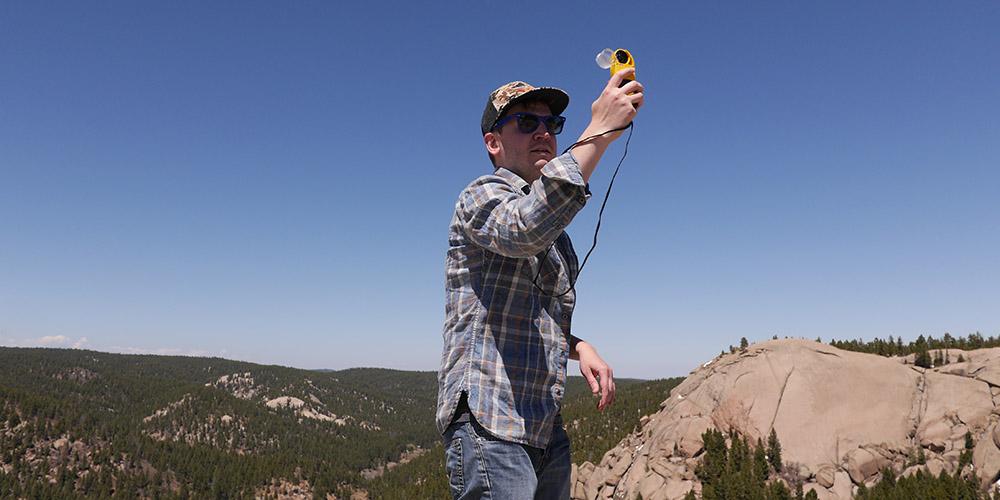 美国NK5500风速仪/Kestrel5500气象仪在野外的应用