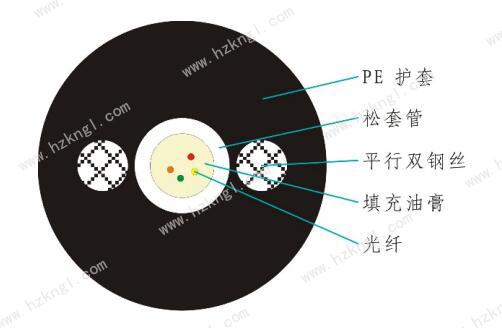 GYXTY光缆结构图