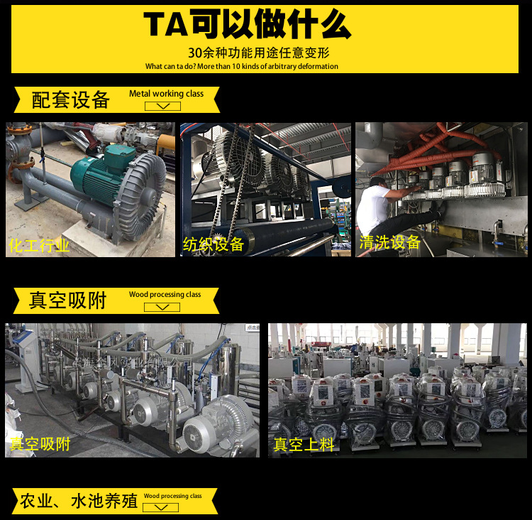 厂家 立式20kw50HZ漩涡气泵  型号LYX-94S-2立式高压漩涡气泵 旋涡式气泵示例图7